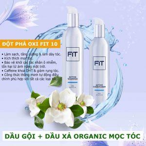 Dầu gội và dầu xả Organic Fit Hair