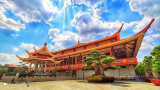 Chiêm ngưỡng Thiền Viện Trúc Lâm Tiền Giang với kiến trúc mang dấu ấn Ấn Độ